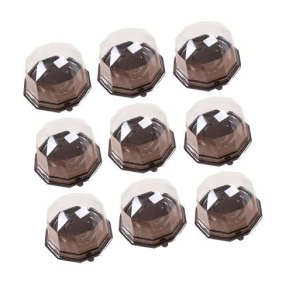 Conjunto de 9 caixas de Acetato para Mini - Bolo