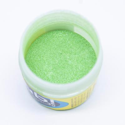 Pó para decoração - FAB, Verde Folha