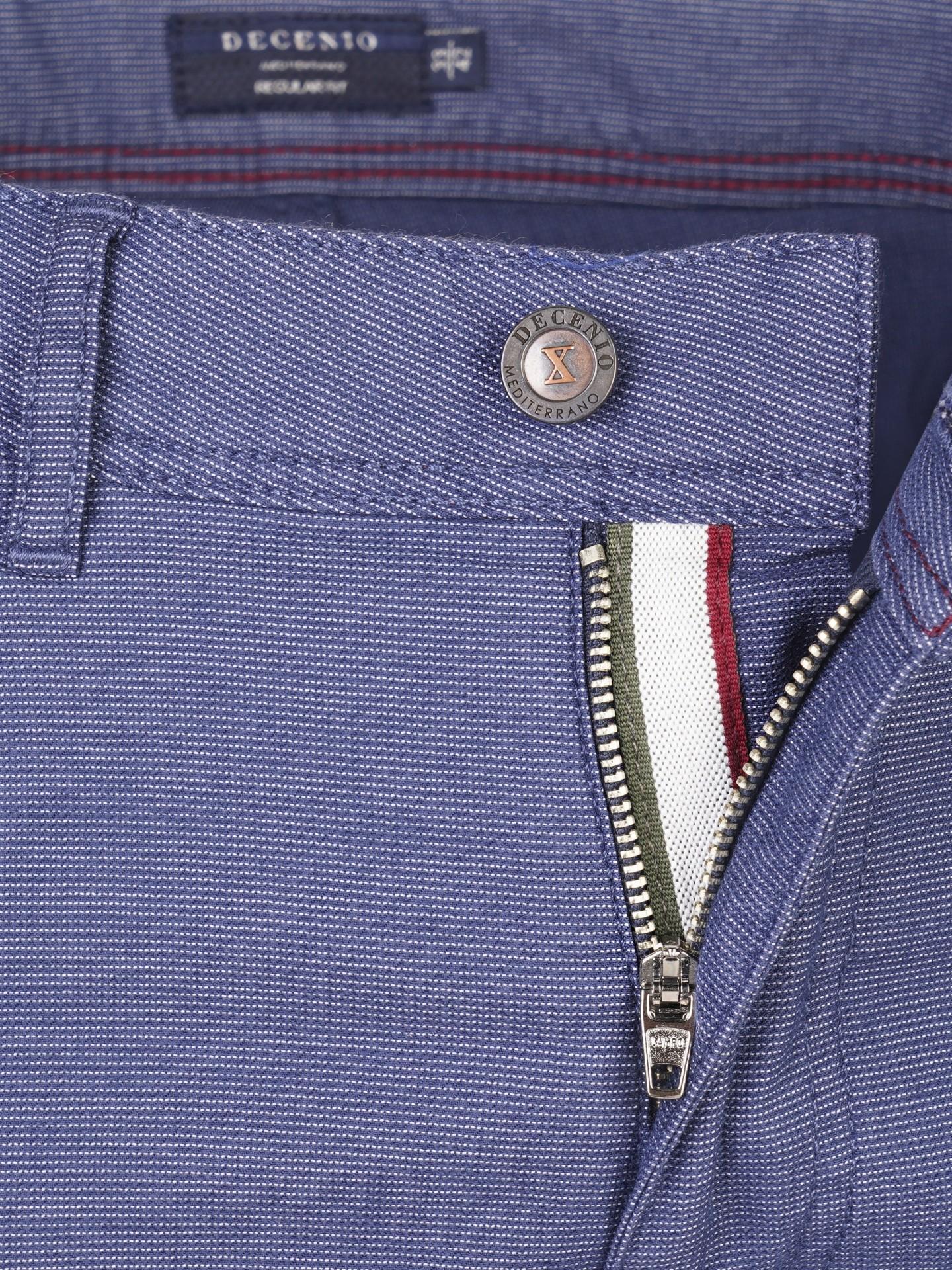 Calça 5 pocket regular fit Decenio
