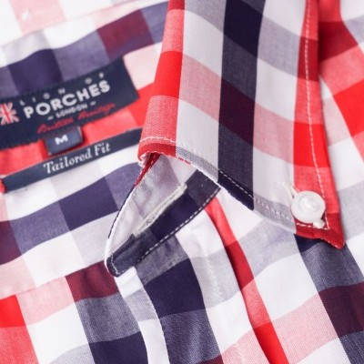 Camisa Slim Flit Lion Of Porches