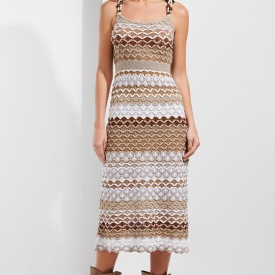 Vestido Midi SAHOCO de Tricot