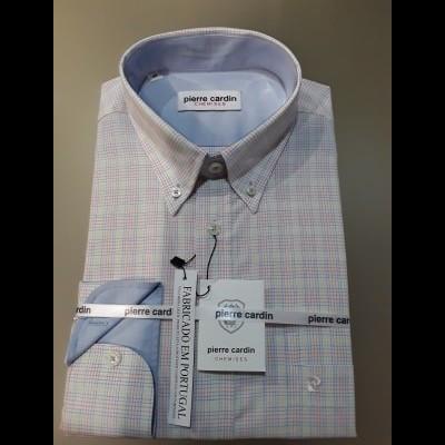Camisa manga comprida Pierre Cardin