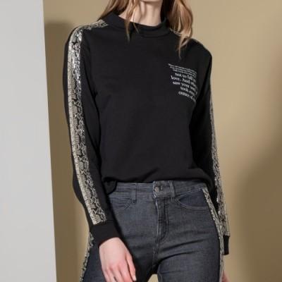 Sweatshirt com estampado Ana Sousa