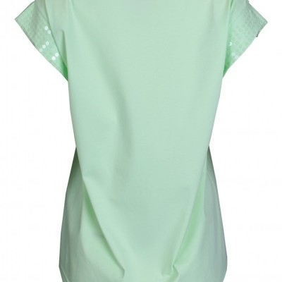 T-shirt com lantejoulas Sahoco
