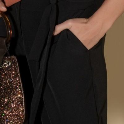 Calças clássicas com cinto Ana Sousa