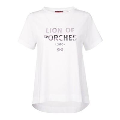 T-shirt fluida Lion of Porches