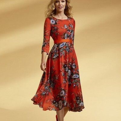 Vestido Florido Arggido