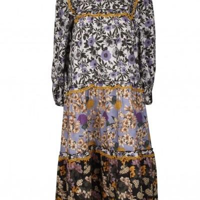 Vestido MIDI floral Sahoco