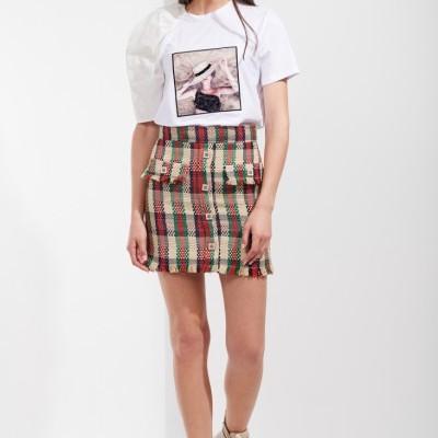 T-shirt com manga assimétrica Sahoco