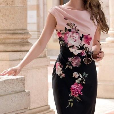 Vestido florido Michaela Louise