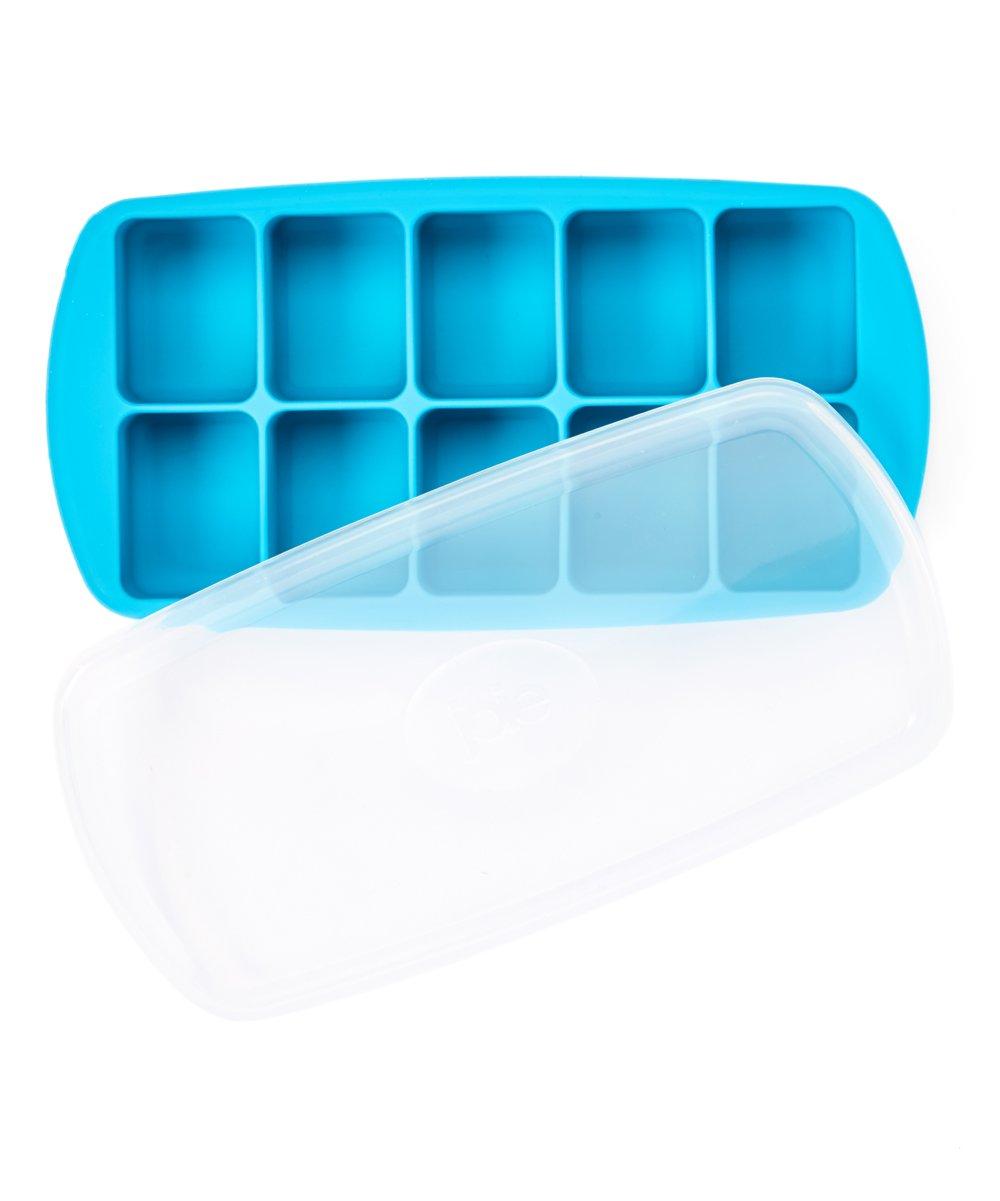 Cuvete de gelo XL em silicone com tampa