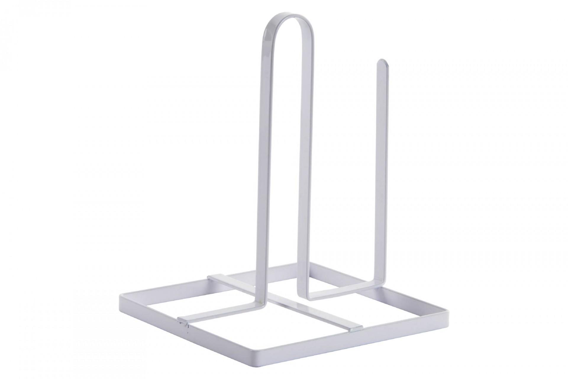 Porta-rolo de papel cozinha branco