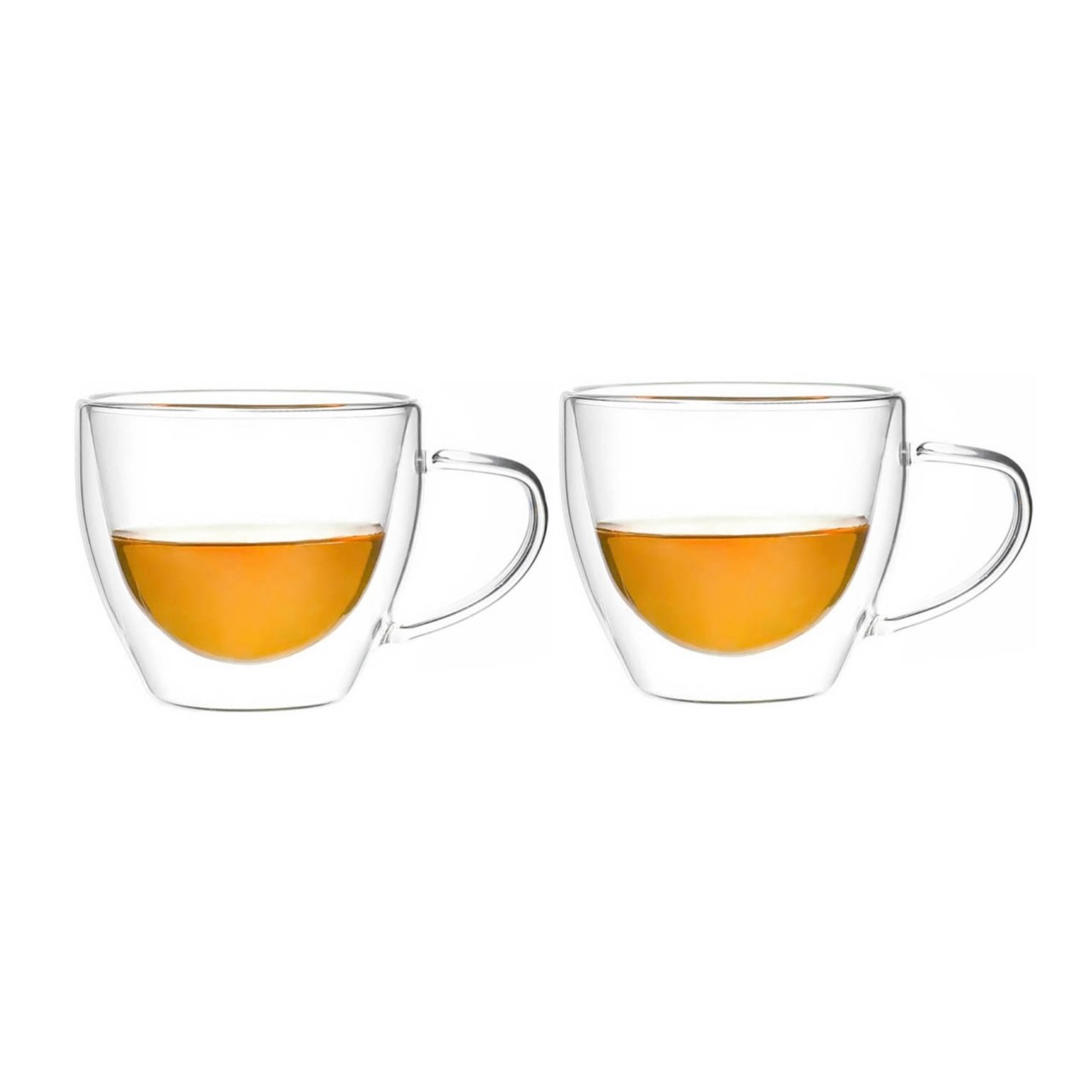 2 Chávenas vidro duplo