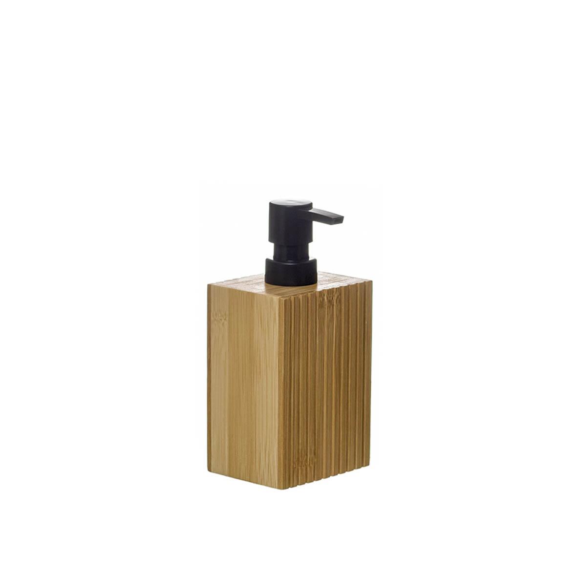 Dispensador sabão em bambu