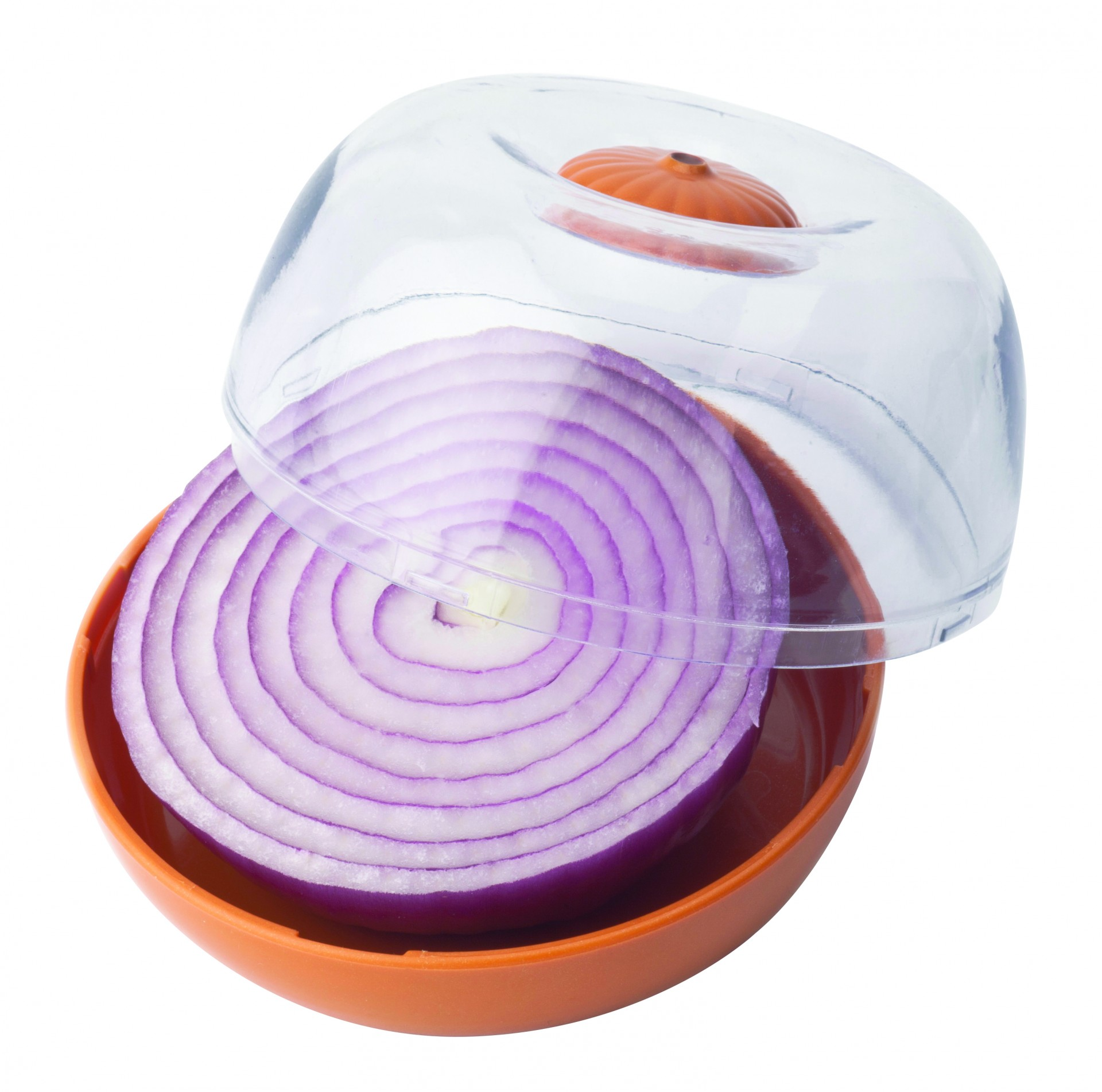 Caixa para cebola transparente