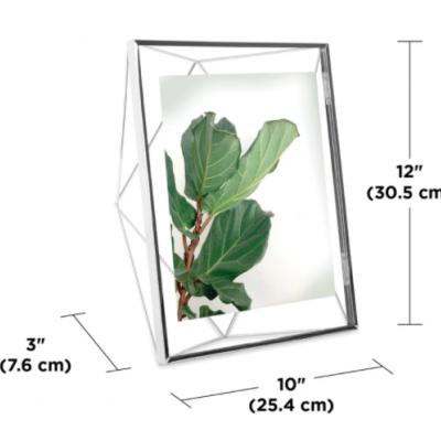 Moldura  20x25cm prisma (Prateada)