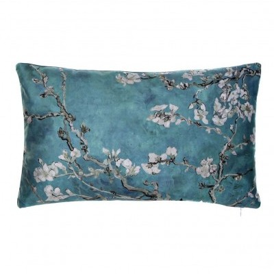 Almofada oriental (Azul PQ)