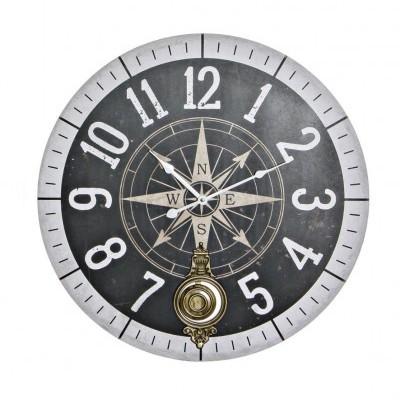 Relógio grande de parede bússola (PR)