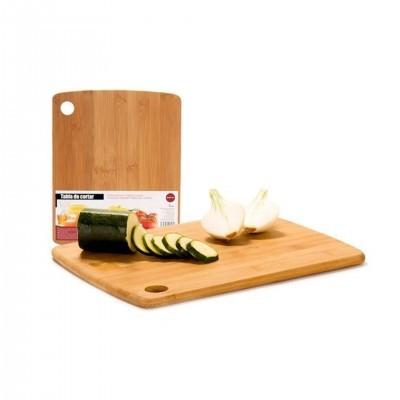 Tábua bambu para cortar alimentos
