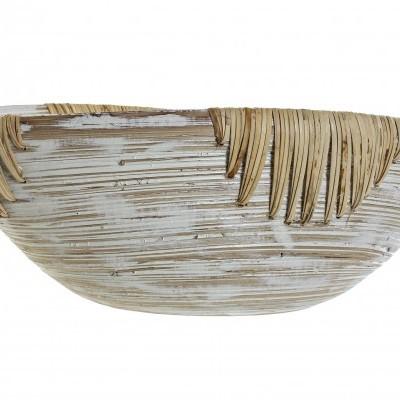 Taça oval em bambu