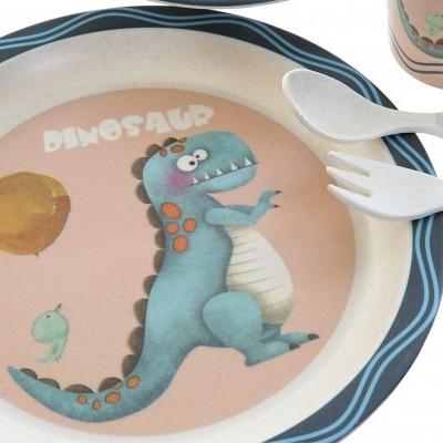 Conjunto de mesa 5 pcs (dinossauro)