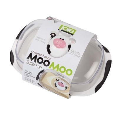 Manteigueira em acrílico Vaca