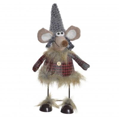 Figura natal rato em pé (2 CORES DISPONÍVEIS)
