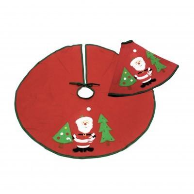 Manta tapa pés p/ árvore de natal