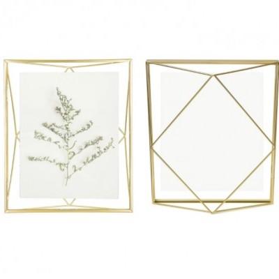 Moldura  20x25cm prisma (Dourada)