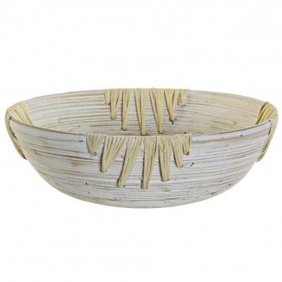 Taça redonda em bambu
