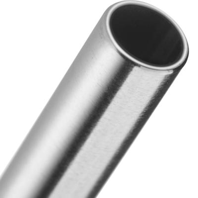 4 Palhinhas de aço inox + escovilhão