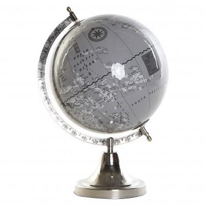Globo terrestre alumínio