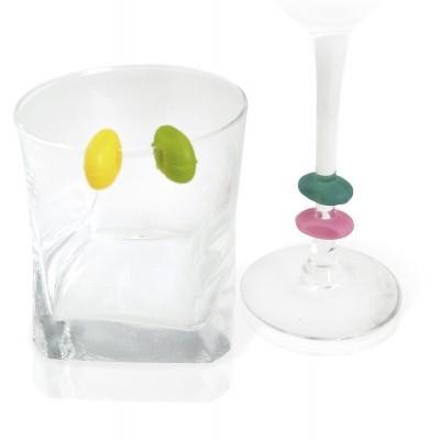12 Marcadores de copos