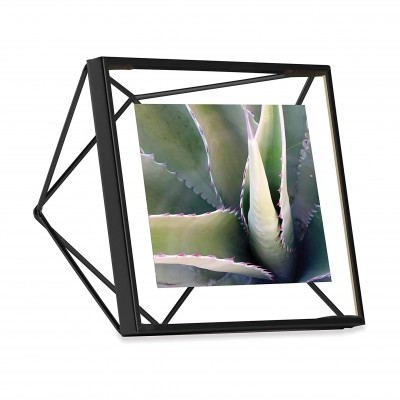 Moldura  10x10cm prisma (Preta)