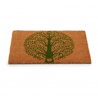 Tapete entrada árvore verde