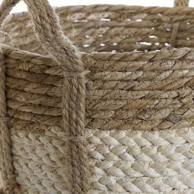 Cesto fibra de milho (3 TAMANHOS DISPONÍVEIS)