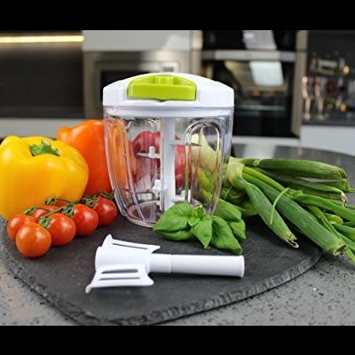 Picador/batedor manual de alimentos
