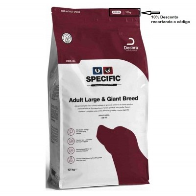 Specific CXD-XL  Adulto Large Breed    Cão 12Kg