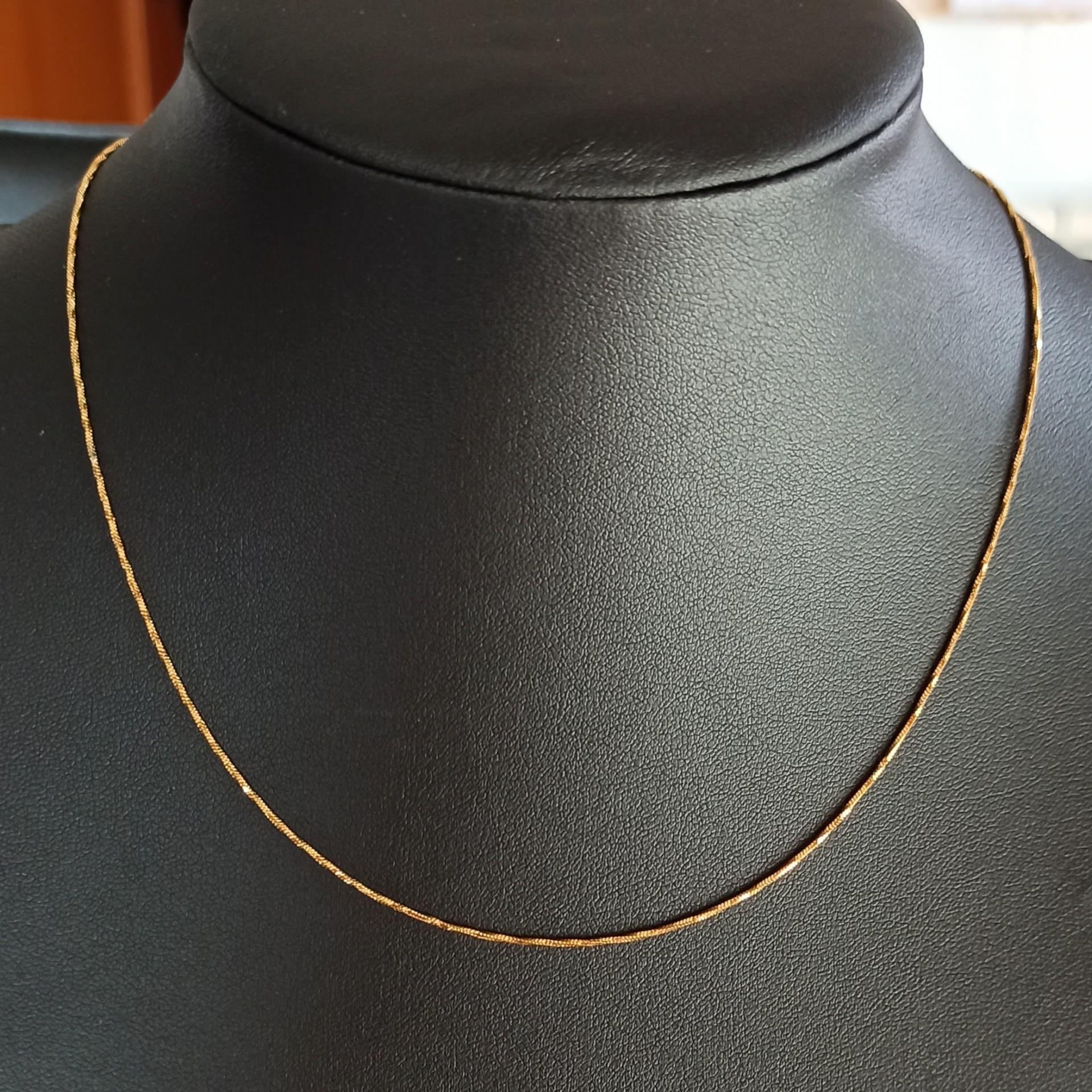Fio de aço inoxidável cor ouro