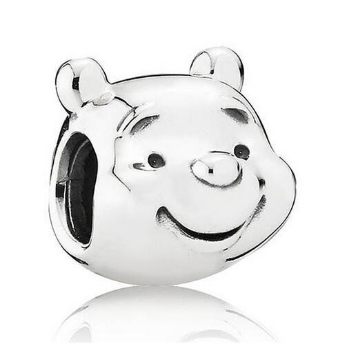 Conta de prata 925 compatível com pandora (Winnie the Pooh)