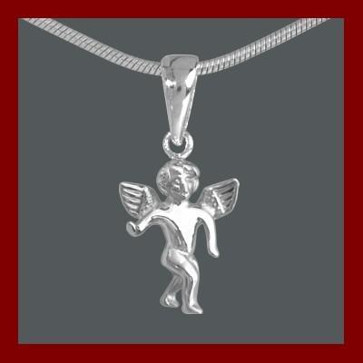Pendente / Pingente de prata 925 - Anjo