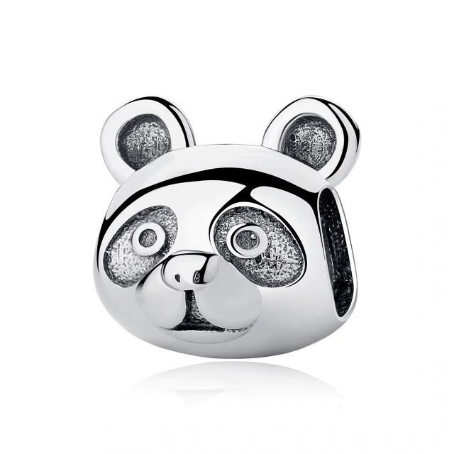 Conta de prata 925 compatível com pandora (panda)