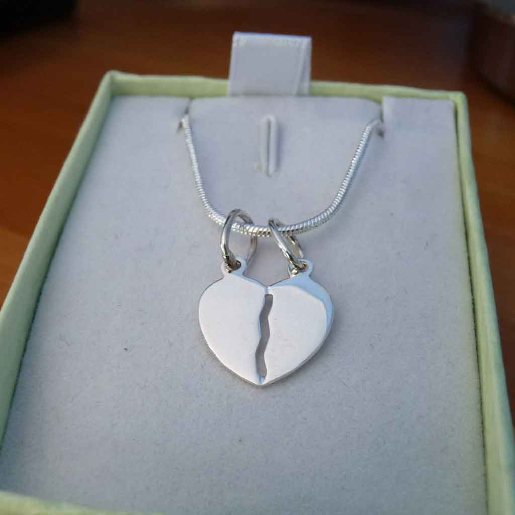 Pendente / Pingente de prata 925 (coração)