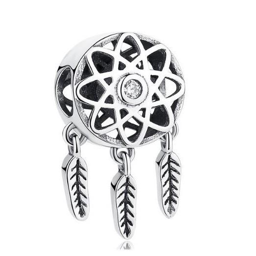 Conta de prata 925 compatível com pandora (apanhador de sonhos)