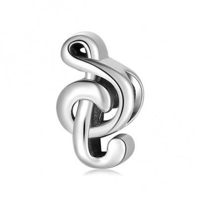 Conta de prata 925 (nota musical)