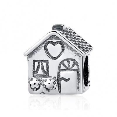 Conta de prata 925 (home sweet home)