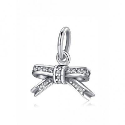 Conta pingente de prata 925 (laço)