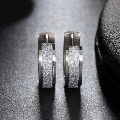 Brincos / argolas de aço inoxidável