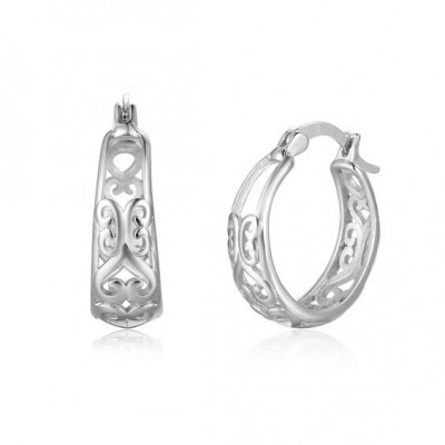 Argolas / Brincos de prata 925