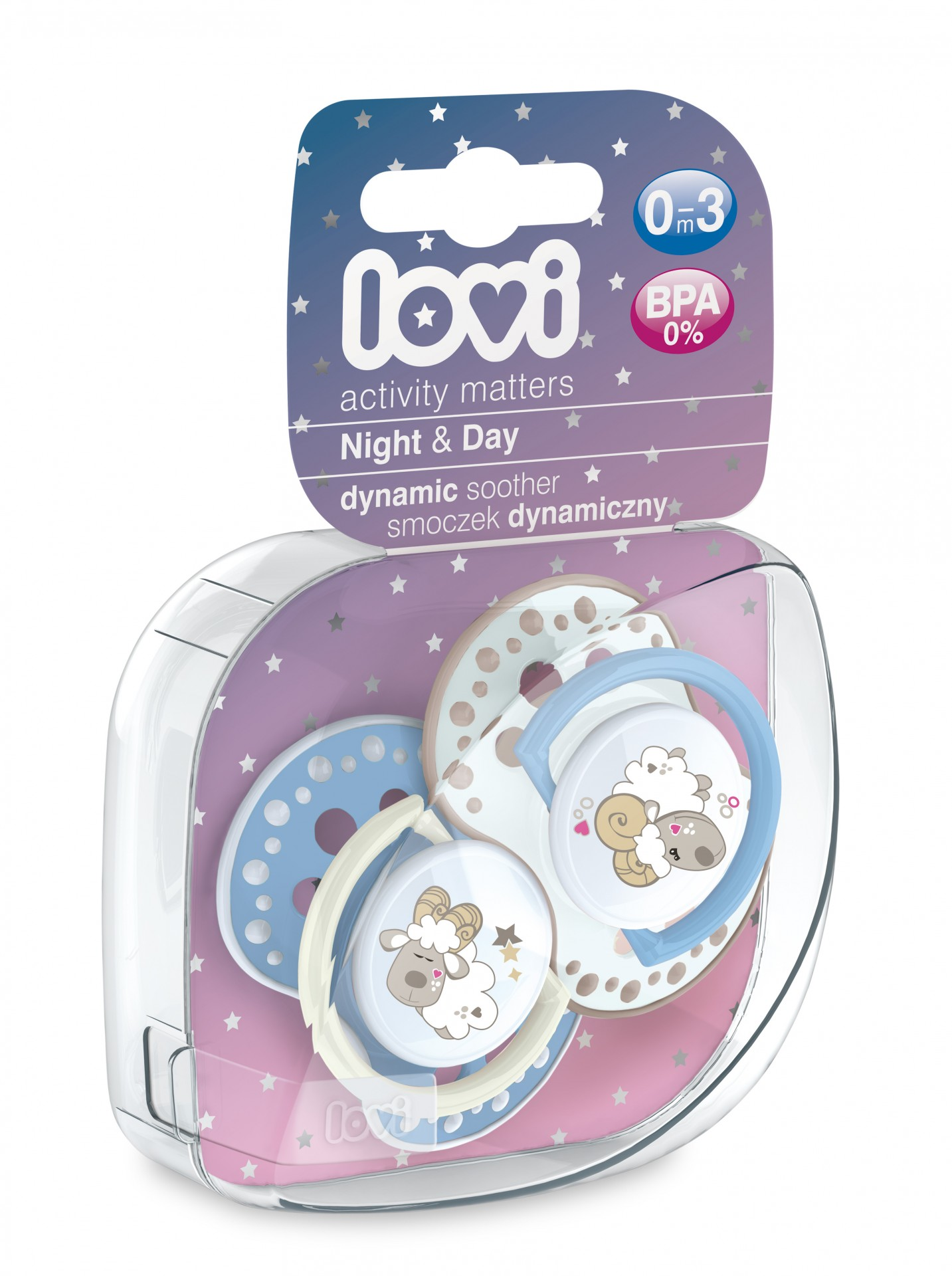 "Chupeta ""Night & Day"" 0-3m"
